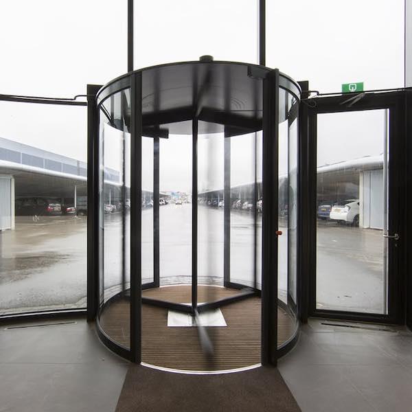 Porte tournante automatique manuelle - Boon Edam Tourniket