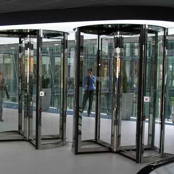 Porte tournante de haute sûreté – Boon Edam Tourlock 180