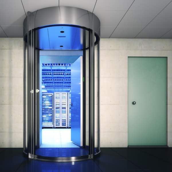 SAS de connexion haute sécurité – Boon Edam Circlelock Combi